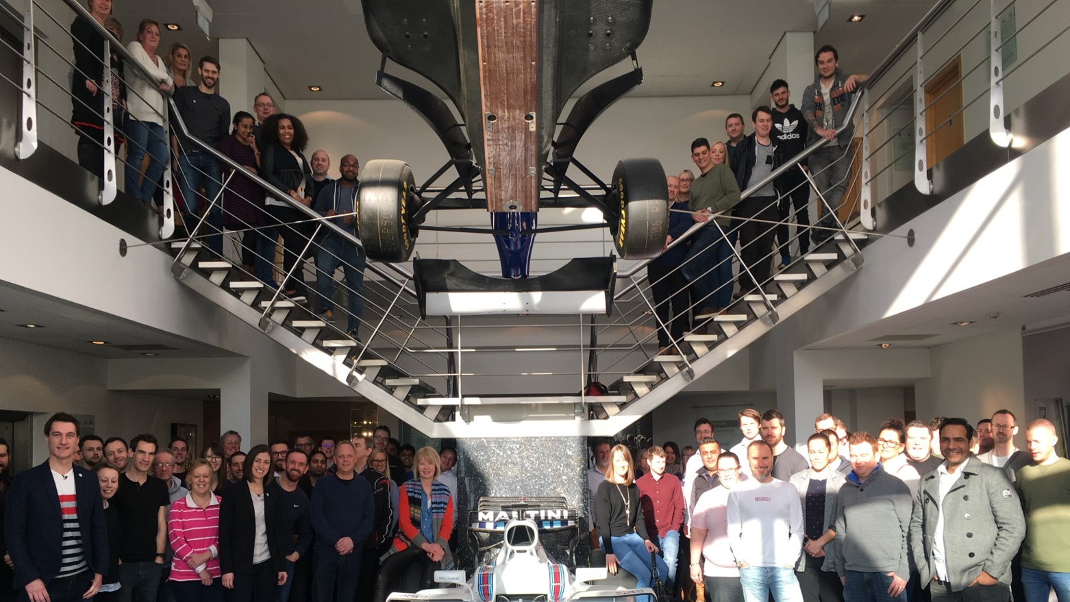 Gladstone Company at Williams Racing venue